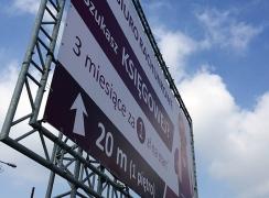 Baner reklamowy Bytom