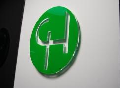 Emblemat w 3d