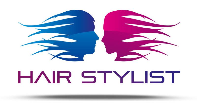 projekt logo salonu fryzjerskiego