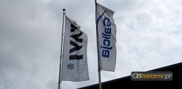 Flagi reklamowe, firmowe
