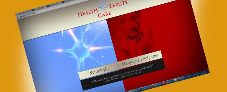 strona internetowa gabinetu medycznego