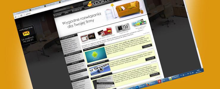 projektowanie stron internetowych xpak.pl