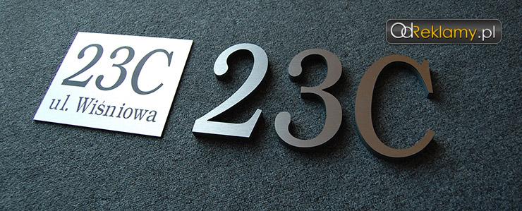 Tabliczki i znaki adresowe