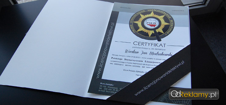 Certyfikat PSLD